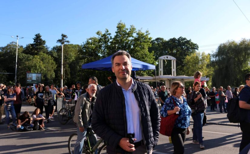 "Митинг-концерт ""Бъдеще за младите"" реч на Емил Георгиев"